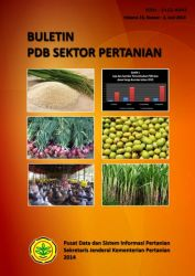 Buletin PDB Sektor Pertanian Vol. 13, No. 2, Juni 2014