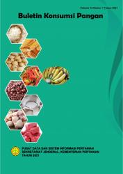 Buku Buletin Konsumsi pangan Semester I 2021