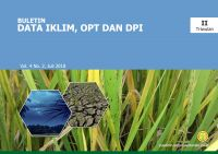 Buletin Data Iklim OPT DPI Triwulan II 2018