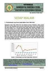 Info Ringkas Sedap Malam Juli 2013